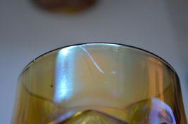 2 L E Smith Carnival Glass Valtec Tumblers image 11