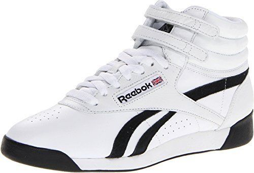 1f14d946ce680d Nuevo Reebok F S Hi Clásicas Blancas   Negro and 50 similar items