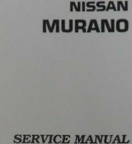 2006 Nissan Murano Service Reparatur Shop Manuell 4 Volume Fabrik OEM Look Große image 2