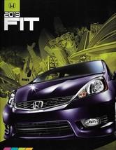 2013 Honda FIT sales brochure catalog 13 US Sport Jazz - $6.00