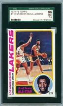 1978 Topps Kareem Abdul Jabbar #110 SGC 86 P879 - $46.37