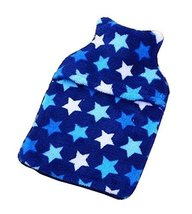 [Stars] Classic Hot Water Bottle with Cover Hot Water Bag - £11.58 GBP