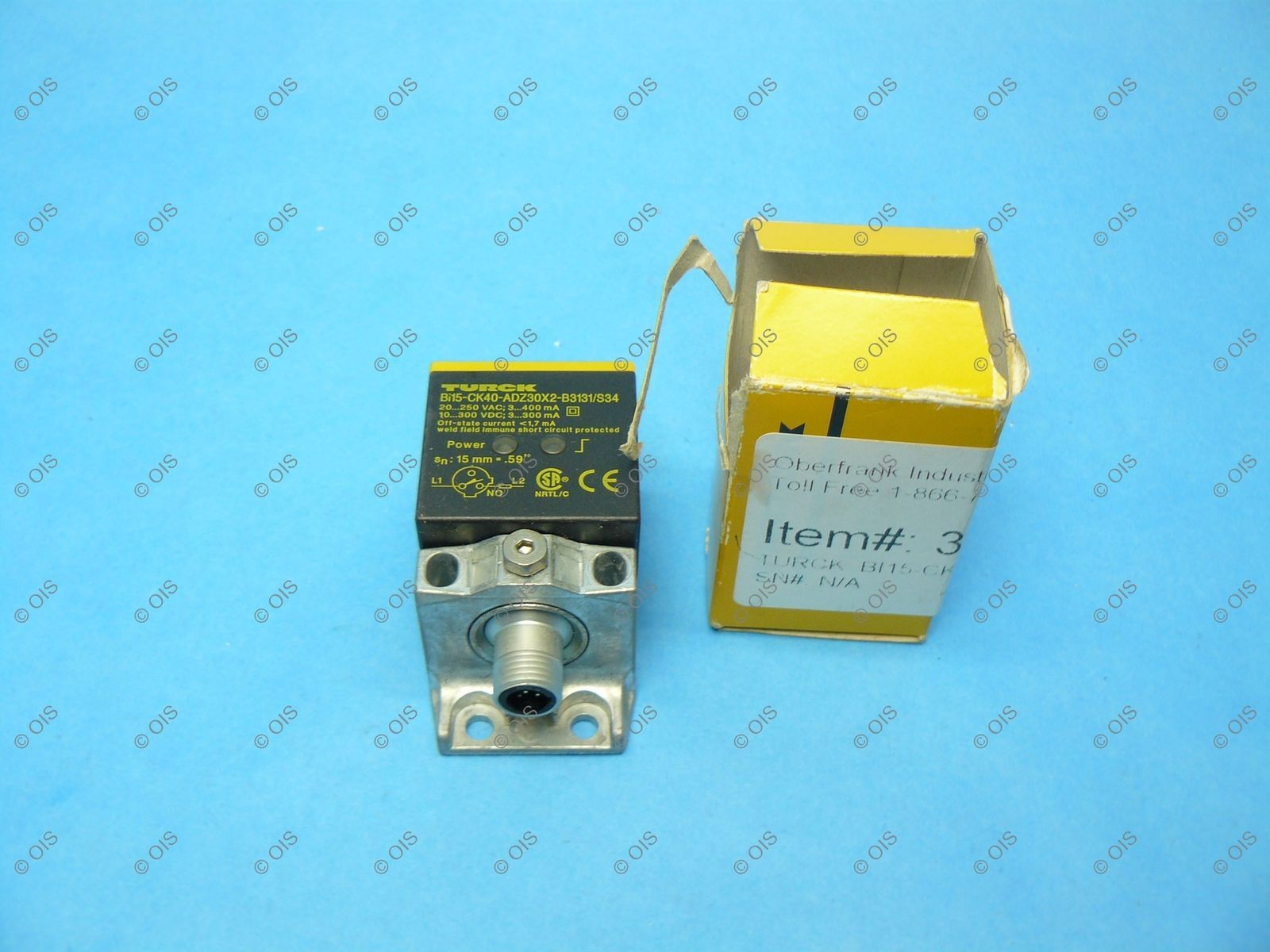 Turck BI15-CK40-ADZ30X2-B3131/S34 Proximity and 50 similar items