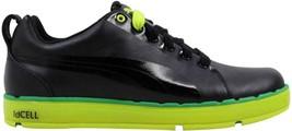 Puma HC Lux LE Golf Black/Lime Punch-Amazon 186093 01 Men's SZ 7 - $55.41