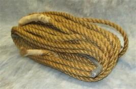 Clothes Line Kite String Rope Twine Winder Reel Holder Hemp Barn Vintage b - $59.00