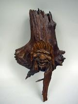 Handcarved Wood Spirit - Wall Mount - $27.77