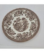Vintage Queen's Fine Earthenware dessert salad plate. Made in Colombia.  - $12.00