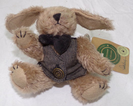 """Boyds Bears INDY PUPPY DOG Small 6"""" Stuffed Animal Tags Investment Collectables - $4.75"""