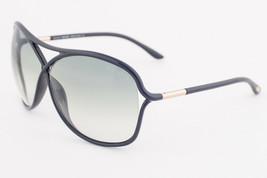 Tom Ford Vicky Black Gold / Green Gradient Sunglasses TF184 01B - $165.62