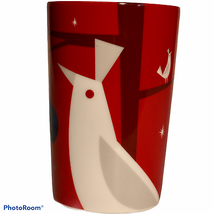 2012 Starbucks Tall Coffee Mug Cup 12 Oz w/ Menu & Partridge Tree Christ... - $13.35