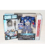 NIB 2016 TRANSFORMER CUBE POWER OPTIMUS PRIME ACTION FIGURE - $29.99