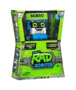 RC Really Rad Robots-MiBro Remote Control RC Robot+RAD BLASTER+BALL+Stea... - $46.74