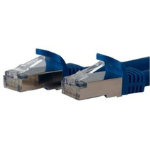 StarTech.com 7ft Blue Shielded Cat6a Molded STP Patch Cable - Category 6... - $18.78