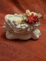 "Dreamsicles 1994 Cherub Candle Holder Figurine Collectable  3"" x 4 1/2"" x 2 1/2"" image 5"