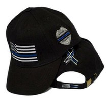 Police Thin Blue Line Hat Law Enforcement Cap Blue Lives Matter Officer Support - $14.44