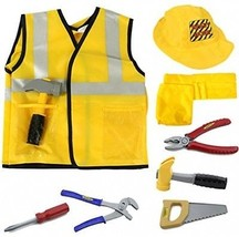 Construction Worker Costume Role Play Kit Set, Engineering Dress Up Gif... - $1.374,13 MXN
