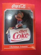 Coca-Cola Ornament Christmas Trimmin'  -Enesco - NIP - $19.31