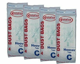 16 Hoover C Bags for Convertible Bottom Fill convertible Lightweight OS ... - $10.30