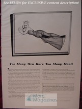 Rare Esquire Advertisement Ad George Petty Girl Reproductions From Esquire! - $8.00