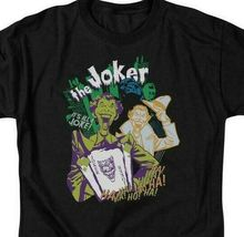 "DC Comics The Joker ""It's all a joke"" retro comics graphic t-shirt BM1547 image 3"
