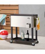 NEW TRINITY Stainless Steel Cooler with Cover SELECT CAPACITY FREE SHIPPING - $259.99+