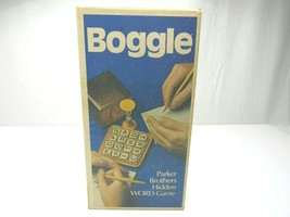 Vintage Boggle Parker Brothers Hidden Word Game Fun Family Games 1976 Ed... - $13.83