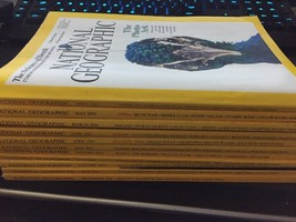 National Geographic Magazine Lot Of 11 - $11.00