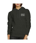 Mini USA Unique 4th Of July Unisex Dark Grey Hoodie Patriotic Gifts - $25.99+