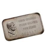Abraham Lincoln Par Madison Excellent État 1 ML Argent États Unis Présid... - $48.52
