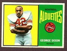1964 Topps Cfl #40 George Dixon (Cfl Hof) Football Card - $14.80