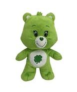 "Care Bears 8"" Good Luck Bear Green Shamrock Plush Stuffed Kelly Toy 2015 - $9.85"