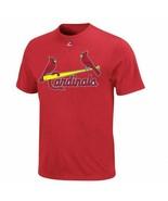 St. Louis Cardinals Majestic Boy's Youth Wordmark Logo Jersey T-Shirt - $6.98