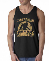 487 Undefeated Hide and Seek Champion Tank Top sasquatch big foot new sq... - $18.99+