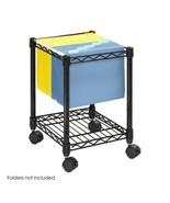 Rolling File Cart Storage Office Cabinet Organizer Hanging Legal Letter-... - $81.48