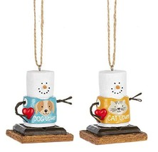 Midwest-CBK S'Mores Pet Lover Hanging Ornaments - $21.95