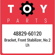 48829-60120 Toyota Bracket Stabilizer, New Genuine OEM Part - $13.76
