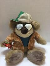 "Interactive Real Talkin BUBBA Redneck BEAR Mattel 2003 Plush Toy Talking 16"" - $18.69"