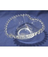 Imperial Glass Ohio CANDLEWICK CLEAR small HEART bowl - $15.00
