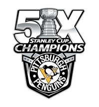 Pittsburgh Penguins 5 Times Stanley Cup Champions Decal / Sticker Die cut - $2.96+