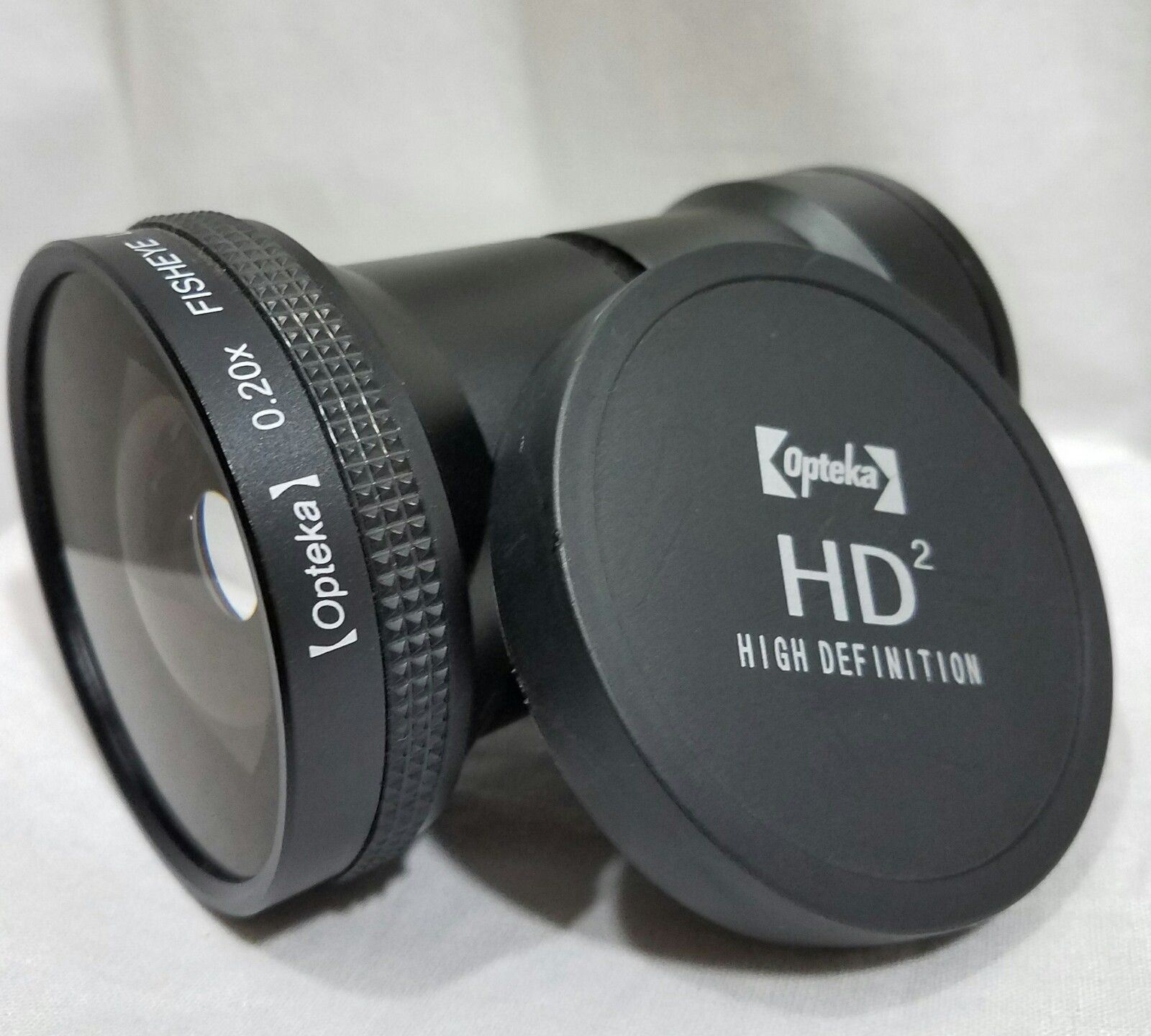 Camera Lens Opteka HD Fits Kodak Z612 Fisheye Converts a 18-55mm into a 3.2-11
