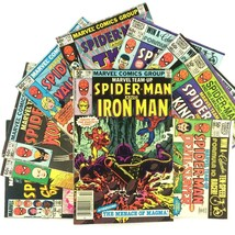 Marvel Team Up Comic Book Lot 10 Issues Spider-Man Wolverine New Mutants Thor - $19.75