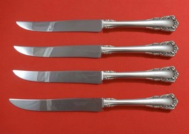 Carillon by Lunt Sterling Silver Steak Knife Set 4pc Large Texas Sized Custom - $247.10