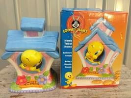"Looney Tunes Tweety Bird In House 10""  Cookie Jar by Gibson + original box  - $39.97"