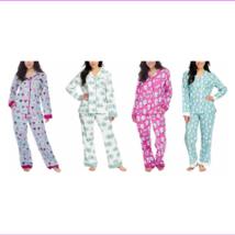 Munki Munki Ladies' 2-piece Flannel PJ Set, Sleepwear - $20.31+