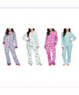 Munki Munki Ladies' 2-piece Flannel PJ Set, Sleepwear - $18.39+