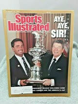 Sports Illustrated February 16 1987 President Ronald Reagan Dennis Conner - $6.92