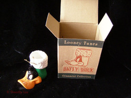 Looney Tunes Daffy Duck Christmas Stocking Christmas Ornament 1990s New - $16.99