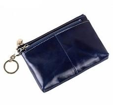 Klsyanyo Genuine Cow Leather Vintage Mini Women Wallets Zipper Coin Pur... - $31.90
