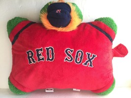 "Pillow Pets Large Red Wally Boston Red Sox Plush Stuffed Animal Pillow 20"" - $54.99"