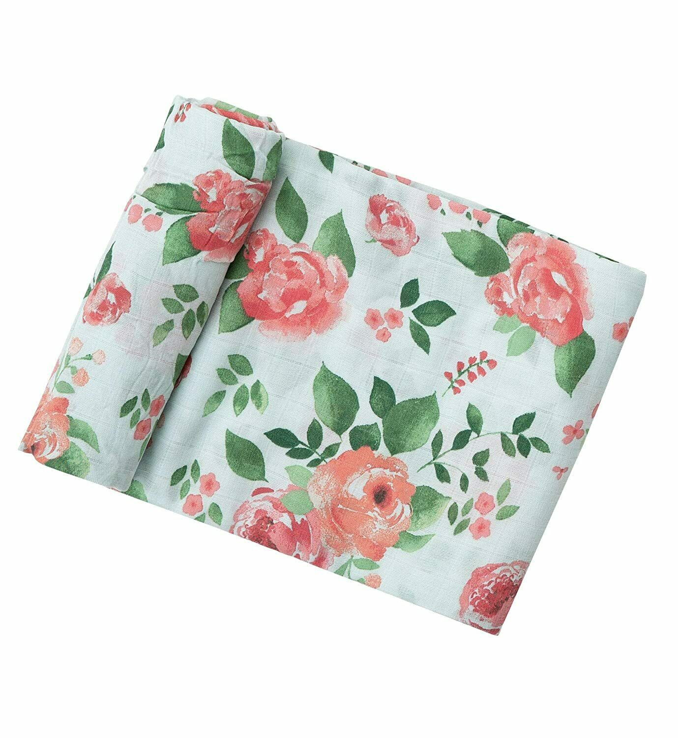 """Angel Dear Luxurious Soft Swaddle Baby Blanket, Floral - Large 47x47"""" Gift Idea - $15.83"""
